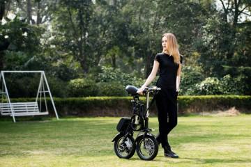 אופניים חשמליים בימי הקיץ